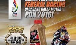 Akhir Minggu Ini, Saksikan Ketangguhan Federal Racing Pada PON XIX 2016