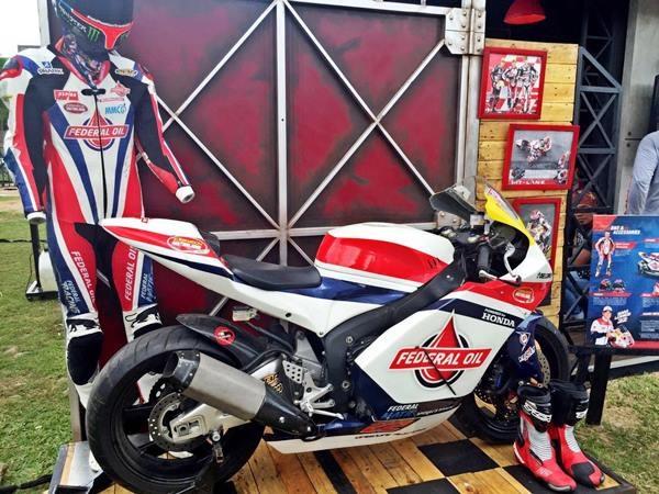 Federal  Oil Gresini Moto2 'Hadir' di Suryanation Motorland Palembang