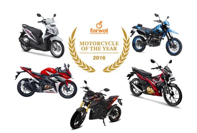 Lima Motor Terbaik Perebutkan Gelar Forwot Motorcycle od the Year 2016
