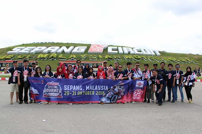 Peserta Federal Oil Special Journey To MotoGP Telah Tiba Sepang