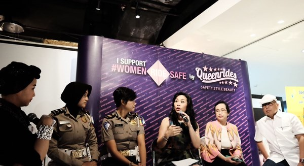 The World Day of Remembrance for Road Traffic Victims, Queenrides Luncurkan Kampanye #WomenRideSafe