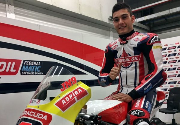 Jorge Navarro Resmi Tunggangi Kalex Federal Oil Gresini Moto2
