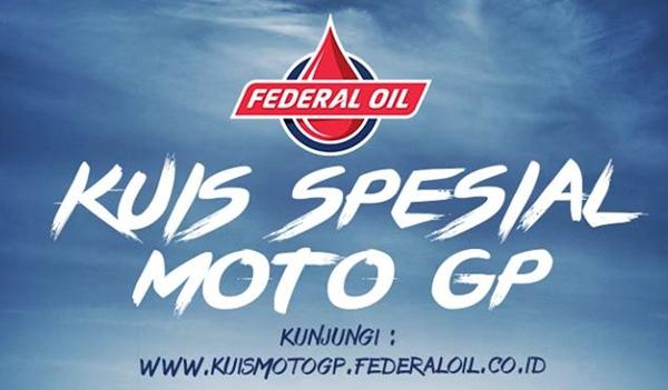 Ini Dia Pemenang Kuis Spesial MotoGP Federal Oil