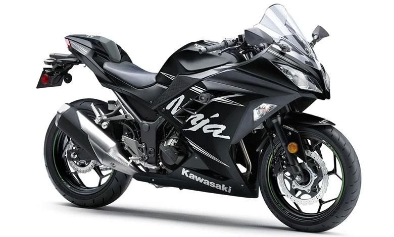 Tampilan Terbaru Kawasaki Ninja 300, Livery Balapan