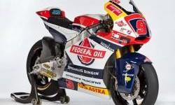 Livery Federal Oil Gresini Moto2 2017, Spesialis Dingin !!!