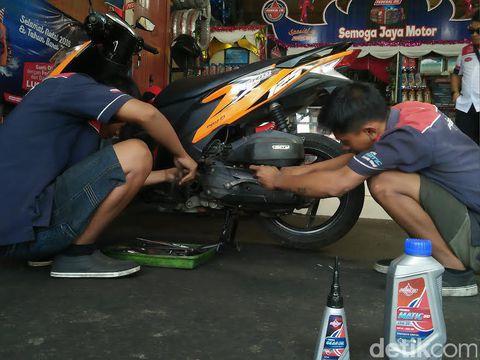 Bengkel Modifikasi Motor Matic Denpasar