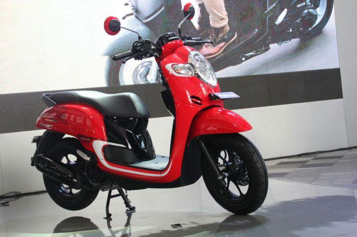 All New Honda Scoopy, Skuter Matic Retro Seharga Rp 17,8 Juta