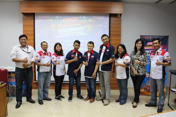Federal Oil Mechanic Training 2017, Ini Tiga Orang Montir Terbaik Jakarta