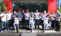 Tiga Orang Pemenang Spesial Surprizing Is Back Telah Terima Honda Beat