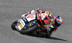 Kondisi Sirkuit Berubah, Jorge Navaro Jadi Korban di Kualifikasi Moto2 Jerez