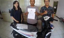 Pemenang Honda Beat Dari Promo Federal Oil Spesial Surprizing Is Back Area Jawa Timur