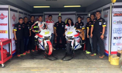 Honda CBR250RR Livery Federal Oil, Sabet Podium Tertinggi IRS Seri 2