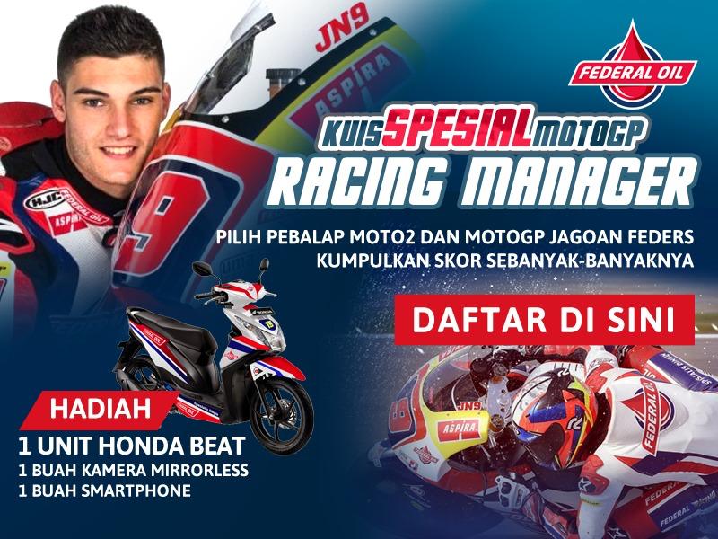 Kuis Spesial MotoGP Racing Manager, Bentuk Tim Balapmu Sendiri dan Menangkan Musim Balap 2017