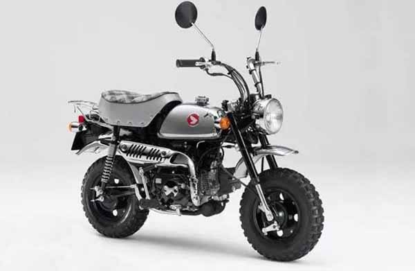 Honda Rilis Monkey Anniversary, Tampil Lebih Classic Dominan Chorome