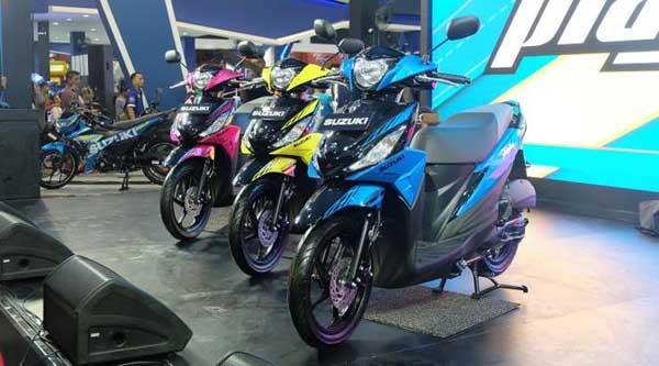 Suzuki Addres Playful 2017 Rilis di PRJ, Punya 10 Pilihan Warna Catchy