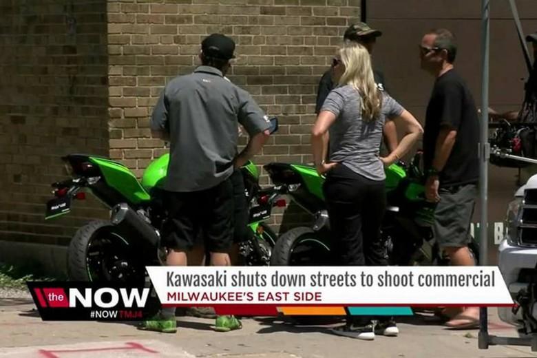 Kawasaki Baru Lakukan Iklan Syuting TV, Ini kah Ninja 400cc Terbaru?