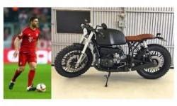 Jelang Pensiun, Xabi Alonso Beli Motor Kustom Cafe Racer
