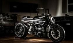 Begini Jadinya Jika Ducati Diavel Terkena Virus Vintage Cafe Racer, Keren!