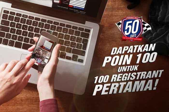 Kuis Federal Oil Nonton MotoGP di Sepang, Bagi-bagi Poin