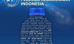 HUT Federal Oil : Persembahan Terbaik Dari Pelumas Kebanggaan Indonesia