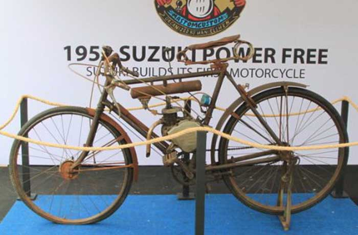 Melirik Singkat Motor Suzuki Tertua di Indonesia