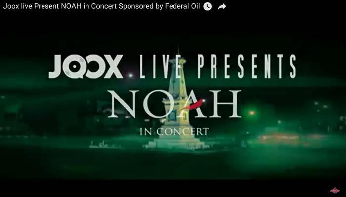 Federal Oil Bagi-bagi Tiket Konser NOAH, Hari Ini Terakhir dan ini Syaratnya