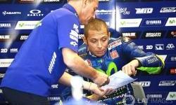 Rossi : Saya Senang di Posisi Depan, Posisi Ini Penting dalam Balapan