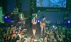 Cerita Tiwi Lawan Duet Ariel, di Konser NOAH Yogyakarta