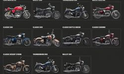 Modifikasi Royal Enfield ala-ala Surfer Cafe Racer