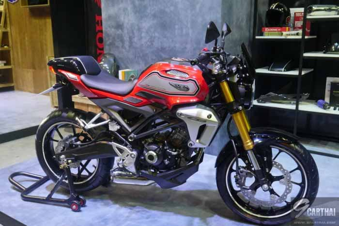 Tiga Pilihan Warna Honda CB150R Exmotion Street Cafe