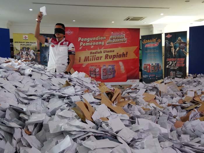 Pengundian Ulang Pemenang Utama FO Miliarder P2 Segera Berlangsung, Siap jadi Juara?