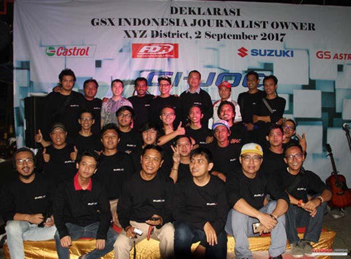 Deklarasi GSX Indonesia Journalist Owner(GI-JOE), Berdiri Karena Satu Profesi