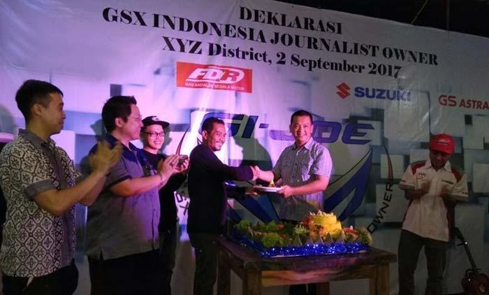 GI-JOE, Komunitas Jurnalis Pengguna Motor Suzuki GSX Resmi Berdiri