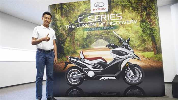 Maxi Skutik Kymco Dekati Honda, Type Adventure Tourer Siap Produksi