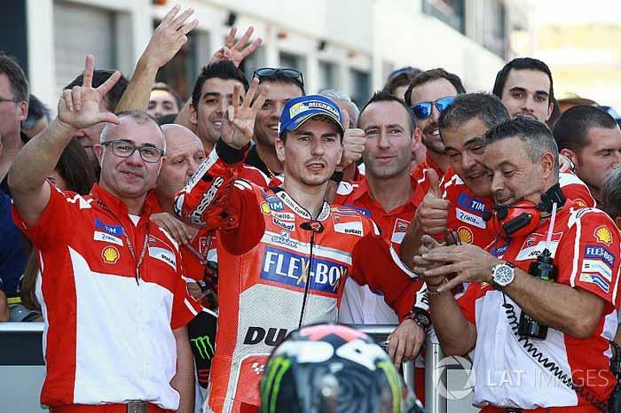 Lorenzo : Ini Hasil Balapan Terbaik Saya Bersama Ducati