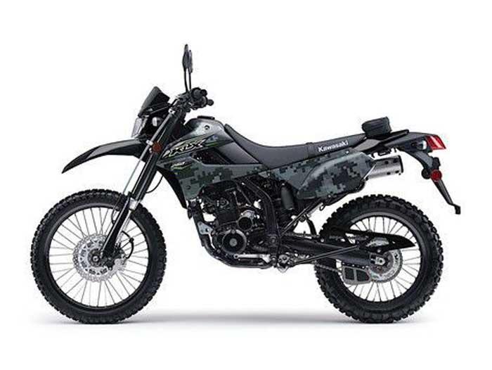Kawasaki KLX 250 2018 Rilis, Ada Pilihan Warna Spesial