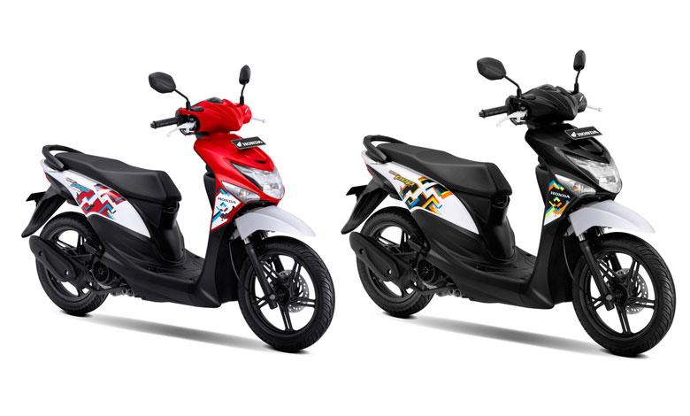 Honda BeAT Pop Rilis Warna Banyak Baru, Intip Yuk..