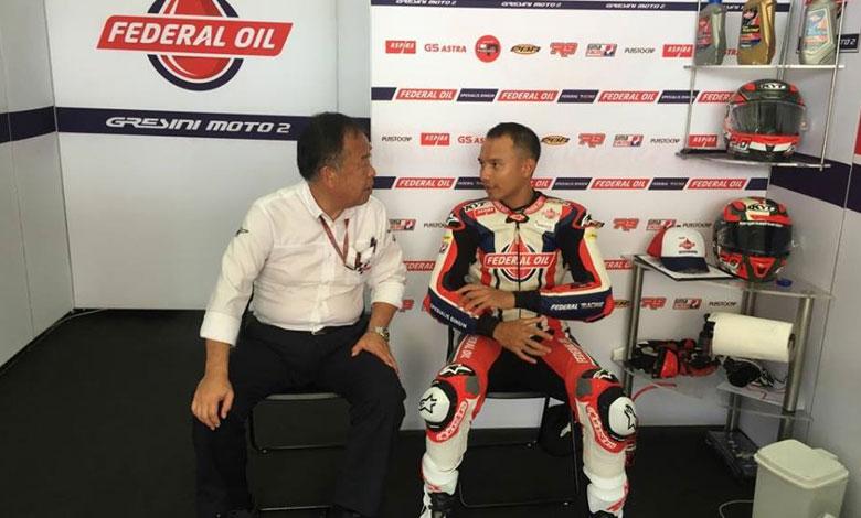 Keren! Ini dia Catatan waktu Dimas Ekky di FP2 Moto2 Bersama Gresini Racing