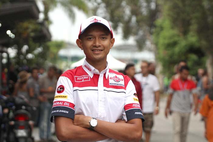 Ini dia Harapan Dimas Ekky Usai Latihan Sesi Pertama Moto2