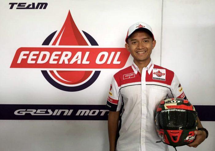 Dimas Ekky Pratama, Pebalap Kebanggaan Indonesia Sudah Tiba di Paddock Federal Oil Gresini Moto2