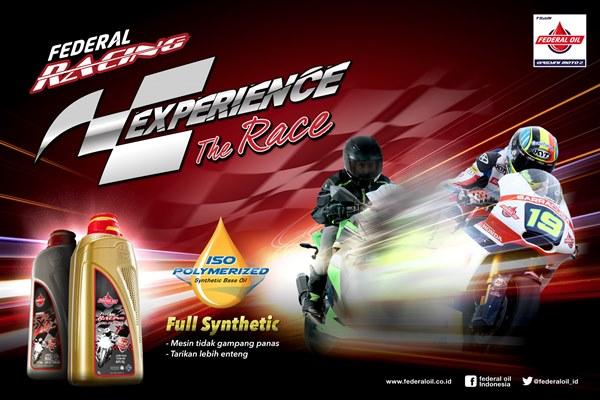 Federal Oil Racing Pelumas Mesin Paling Cocok Untuk Motor Sport, Ini dia Penjelansannya...