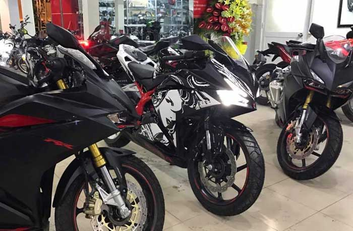 Honda CBR250RR Special Edition Kabuki Juga Rilis di Negara Ini, Tapi Cuma 1 unit