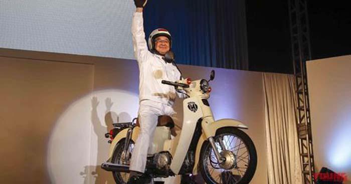 Honda Resmi Luncurkan Bebek Klasik Supercup Anniversay