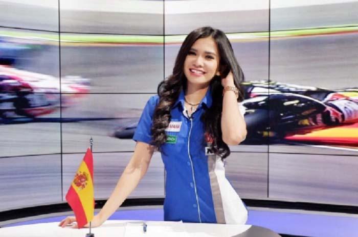 Host Cantik MotoGP Ini Gemar Merawat Keindahan Tubuh, Lihat Caranya Yuk...