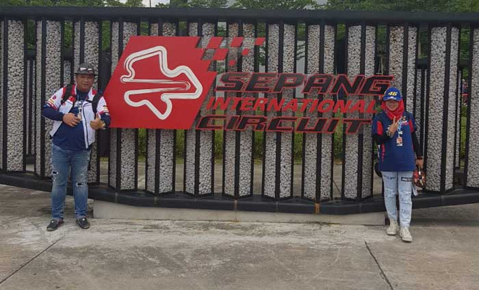 Cerita Puguh dan Veny, Peserta Nonton MotoGP Sepang Bersama Federal Oil Asal Malang