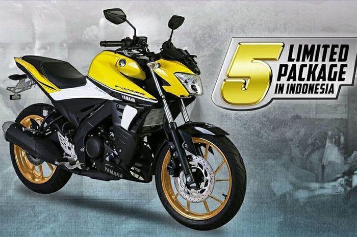 Yamaha Vixion Ini Hanya dijual Lima Unit Indonesia, Kok Bisa ya?