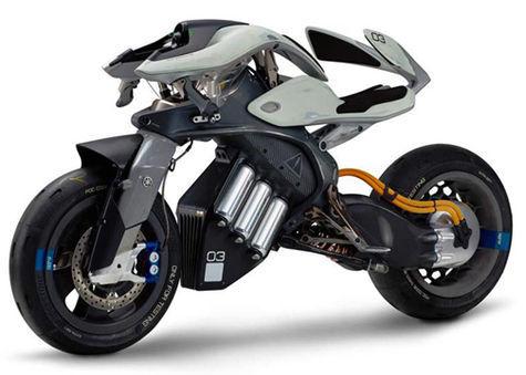 Melirik Motor Masa depan Yamaha, Katanya Sih Cerdas