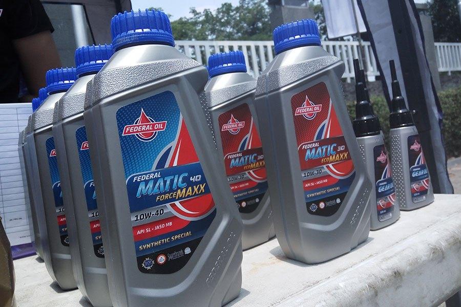 Oli Federal Matic 40 Forcemaxx 1 Liter untuk Yamaha NMAX