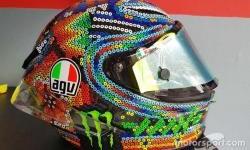 Keren banget gak sih? Ternyata dari sini, Inspirasi Design Helm Valentino Rossi yang Baru