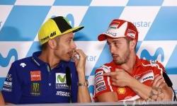 Rossi Memuji Mental Dovizioso yang Pantang Menyerah
